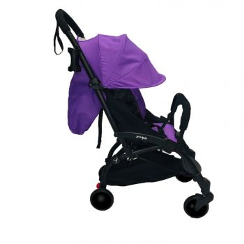 Yoya 175A+ Фиолетовый лен, рама черная