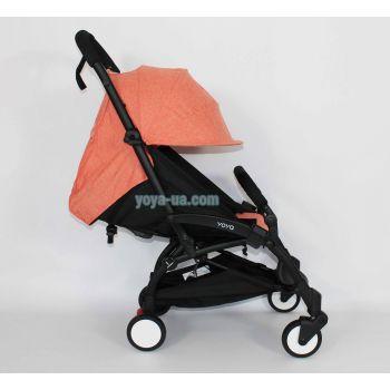 Yoya 175A+ Оранжевый лен, рама черная