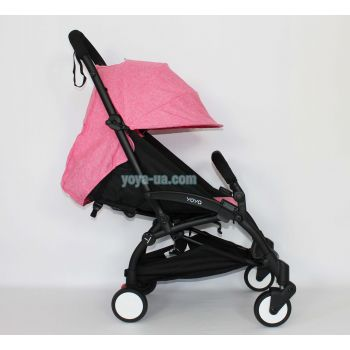 Yoya 175A+ Розовый лен, рама черная