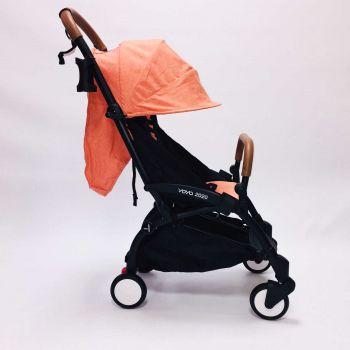 Yoya 175A+ 2020 Оранжевый лен, рама черная