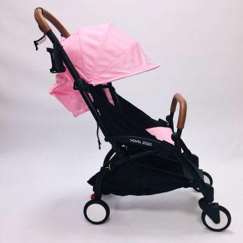 Yoya 175A+ 2020 Розовый оксфорд, рама черная