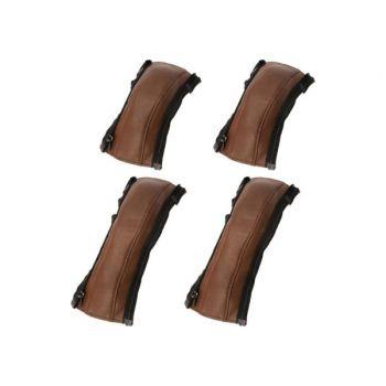 Комплект чехлов на бампер и ручку коляски Yoya Plus 3, 4, PRO, PRO 2020, PRO Premium коричневый