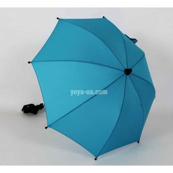 Универсальный зонт для колясок бирюза