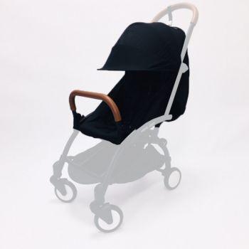 Текстиль для коляски Yoya 175A+, Yoya 175A+ 2020, Yoya 17521 Черный
