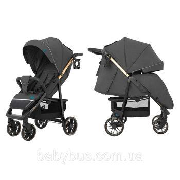 Прогулочная коляска CARRELLO Echo CRL-8508/2 Midnight Gray +дождевик +москитная сетка L /1/ MOQ