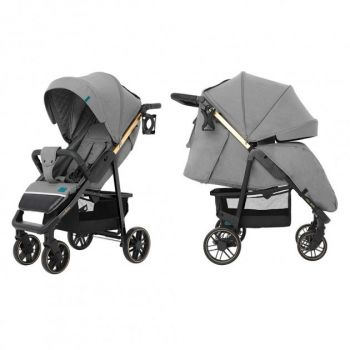 Прогулочная коляска CARRELLO Echo CRL-8508/2 Rhino Gray +дождевик +москитная сетка L /1/ MOQ