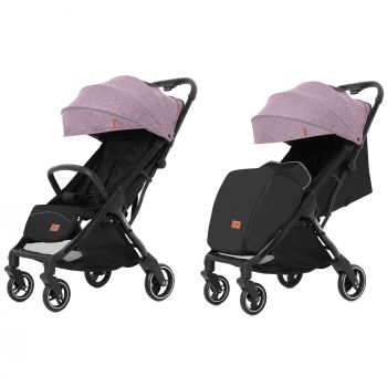 Прогулочная коляска CARRELLO Turbo CRL-5503 Grape Pink +дождевик S /1/ MOQ