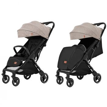 Прогулочная коляска CARRELLO Turbo CRL-5503 Warm Beige +дождевик S /1/ MOQ