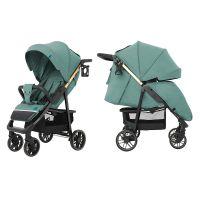 Прогулянкова коляска CARRELLO Echo CRL-8508/2 Emerald Green +дощовик +москітна сітка L /1/ MOQ