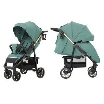 Прогулочная коляска CARRELLO Echo CRL-8508/2 Emerald Green +дождевик +москитная сетка L /1/ MOQ