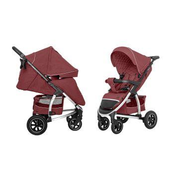 Прогулочная коляска CARRELLO Vista Air CRL-5511 Ruby Red +дождевик L /1/