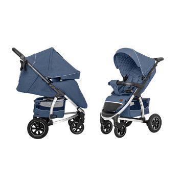 Прогулочная коляска Carrelo Vista Air CRL-5511 Denim Blue +дождевик L /1/
