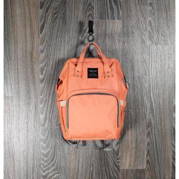 Рюкзак для мам персиковый