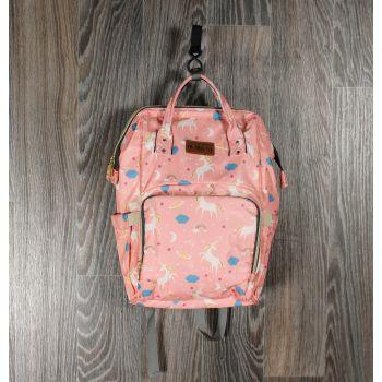 Рюкзак для мам розовые единороги
