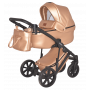 Универсальная коляска 2в1 Donatan Monako Пудра экокожа