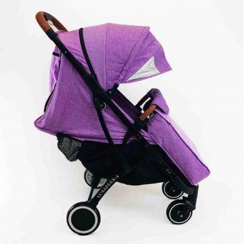 Yoya Plus 4 Фиолетовая, рама черная