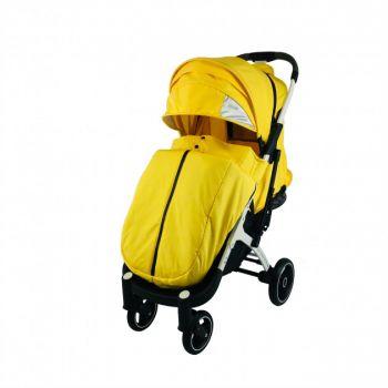Yoya Plus Pro 21+ 4 Желтый, рама черная/белая